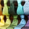 Les différents types de cravates