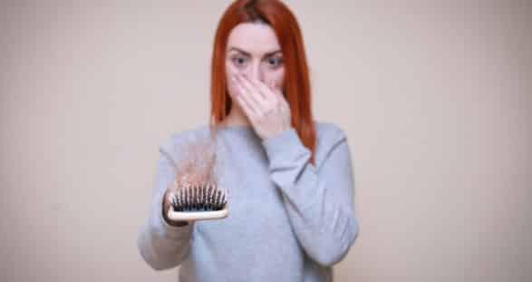 chute de ses cheveux